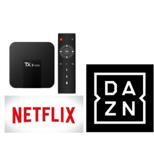 NETFLIX DAZN Android Box HD